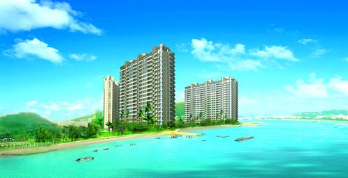天俊 蓝水湾 已售完 楼盘效果图高清图片