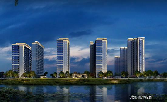 保利旗山湖旁项目案名公布:拟建9栋高层,福州,房产,猎房网